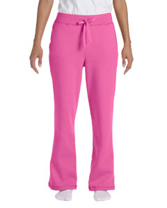 G184FL Gildan Heavy Blend™ Ladies' 13.3 oz./lin. yd., 50/50 Open-Bottom Sweatpants