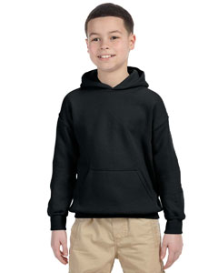 G185B Gildan Heavy Blend™ Youth 13.3 oz./lin. yd., 50/50 Hood
