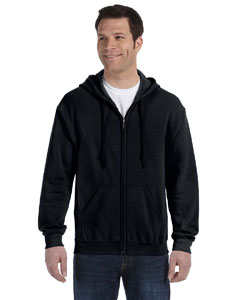 G186 Gildan Heavy Blend™ 13.3 oz./lin. yd., 50/50 Full-Zip Hood