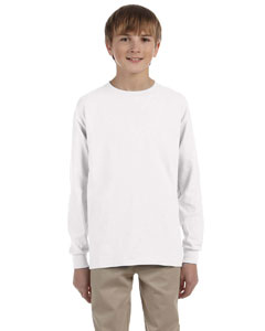 G240B Gildan Ultra Cotton® Youth 10 oz./lin. yd. Long-Sleeve T-Shirt