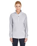 1289408 Under Armour Ladies' UA Corp Stripe Quarter-Zip