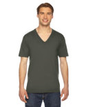 2456 American Apparel Unisex Fine Jersey Short-Sleeve V-Neck T-Shirt