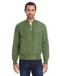 395J Threadfast Unisex Bomber Jacket