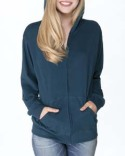 6491 Next Level Adult Sueded Full-Zip Hoody