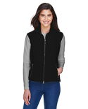 78050 North End Ladies' Three-Layer Light Bonded Performance Soft Shell Vest