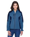 78077 Ash City - North End Compass Colourblock Three-Layer Fleece Bonded Soft Shell Jacket