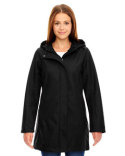 78171 Ash City - North End Ladies' City Textured Three-Layer Fleece Bonded Soft Shell Jacket