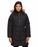 78179 Ash City - North End Boreal Down Jacket with Faux Fur Trim