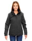 78209 Ash City - North End Rivet Textured Twill Insulated Jacket