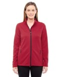 78229 Ash City - North End Ladies' Torrent Interactive Textured Performance Fleece Jacket