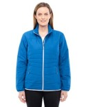 78231 Ash City - North End Ladies' Resolve Interactive Insulated Packable Jacket