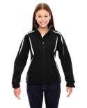 78650 North End Ladies' Enzo Colorblocked Three-Layer Fleece Bonded Soft Shell Jacket