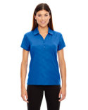78659 Ash City - North End Sport Red Maze Performance Stretch Embossed Print Polo