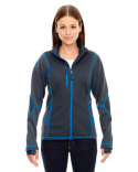 78681 Ash City - North End Sport Red Pulse Textured Bonded Fleece Jacket with Print