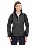 78686 Ash City - North End Sport Blue Commute Three-Layer Light Bonded Two-Tone Soft Shell Jacket with Heat Reflect Technology
