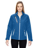 78694 Ash City - North End Sport Red Frequency Lightweight Mélange Jacket