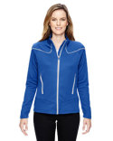 78806 Ash City - North End Ladies' Cadence Interactive Two-Tone Brush Back Jacket