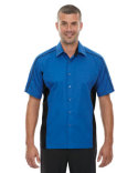 87042T Ash City - North End Tall Fuse Colourblock Twill Shirt