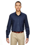 87043 Ash City - North End Men's Paramount Wrinkle-Resistant Cotton Blend Twill Checkered Shirt
