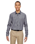 87046 Ash City - North End Men's Excursion F.B.C. Textured Performance Shirt