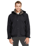88009 Ash City - North End 3-in-1 Bomber Jacket