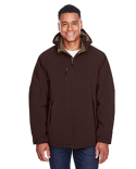 88159 Ash City - North End Glacier Insulated Three-Layer Fleece Bonded Soft Shell Jacket with Detachable Hood