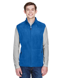 88173 Ash City - North End Men's Voyage Fleece Vest