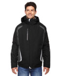 88195 Ash City - North End Men's Height 3-in-1 Jacket with Insulated Liner