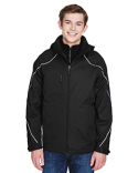 88196T Ash City - North End Tall Angle 3-in-1 Jacket with Bonded Fleece Liner