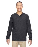 88221 Ash City - North End Excursion Nomad Performance Waffle Henley