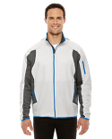 88230 North End Men's Motion Interactive Colorblock Performance Fleece Jacket