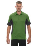 88677 Ash City - North End Men's Refresh UTK cool?logik™ Coffee Performance Mélange Jersey Polo