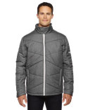 88698 Ash City - North End Sport Blue Avant Tech Mélange Insulated Jacket with Heat Reflect Technology