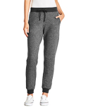 9801 Next Level Ladies' Denim Fleece Jogger