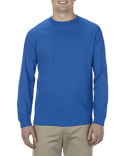 AL1904 Alstyle Adult 5.1 oz., 100% Soft Spun Cotton Long-Sleeve T-Shirt