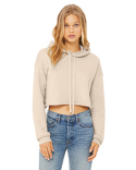 B7502 Bella + Canvas Ladies' Cropped Fleece Hoodie