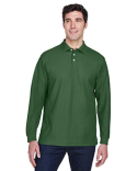 D110 Devon & Jones Pima Piqué Long-Sleeve Polo