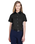 D620SW Devon & Jones Ladies' Crown Woven Collection™ Solid Broadcloth Short-Sleeve Shirt