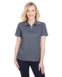 DG22W Devon & Jones Ladies' CrownLux Performance™ Address Mélange Polo