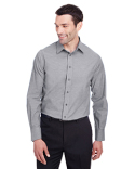 DG562 Devon & Jones Men's Crown  Collection™ Stretch Pinpoint Chambray Shirt