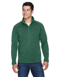 DG792 Devon & Jones Men's Bristol Sweater Fleece Half-Zip
