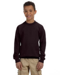 G180B Gildan Youth Heavy Blend™  13.3 oz./lin. yd., 50/50 Fleece Crew