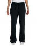 G184FL Gildan Ladies' Heavy Blend™   13.3 oz./lin. yd., 50/50 Open-Bottom Sweatpants