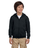 G186B Gildan Heavy Blend™ Youth 13.3 oz./lin. yd., 50/50 Full-Zip Hood