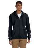 G186FL Gildan Heavy Blend™ Ladies' 13.3 oz./lin. yd., 50/50 Full-Zip Hood