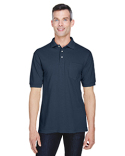 M265P Harriton Men's 5.6 oz. Easy Blend™ Polo with Pocket