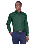 M500 Harriton Easy Blend™ Long-Sleeve Twill Shirt with Stain-Release