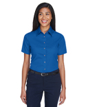 M500SW Harriton Easy Blend™ Short-Sleeve Twill Shirt with Stain-Release