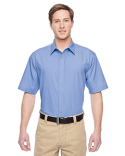 M545 Harriton Men's Advantage Snap Closure Short-Sleeve Shirt