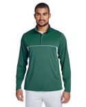 TT26 Team 365 Excel Mélange Interlock Performance Quarter-Zip Top